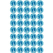Blue Baby Feet Candy 40ct