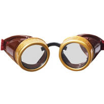 Brown Steampunk Goggles