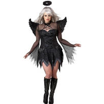 Adult Fallen Angel Costume Plus Size