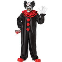 Adult Last Laugh Evil Clown Costume