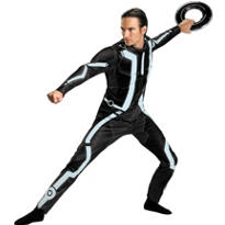 Adult Tron Legacy Costume Deluxe