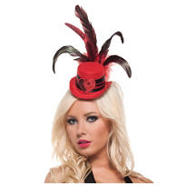 Red Moulin Rouge Hat