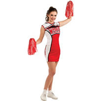 Adult Cheerios Cheerleader Costume - Glee