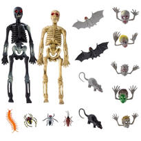 Halloween Creepy Crawly Favors Super Mega Mix 100ct