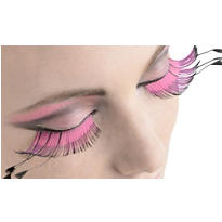 Pink & Purple False Eyelashes