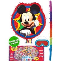 Pull String Mickey Mouse Pinata Kit