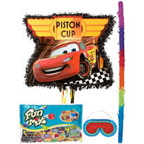 Pull String Cars Pinata Kit