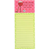 Wine Mom Magnetic Notepad