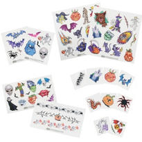 Trick or Treat Temporary Tattoos