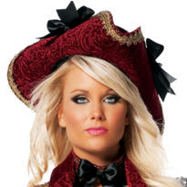 Velvet Pirate Hat