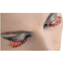 Red Burst False Eyelashes