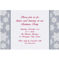 Shining Season Custom Invitation