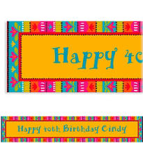 Fiesta Brights Custom Banner 6ft