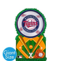 Giant Minnesota Twins Pinata 22in x 22in