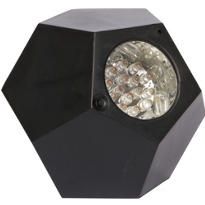Black GEO LED Mini Strobe Light 5in