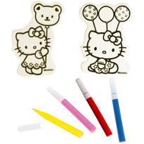 Hello Kitty Wood Decorating Kit