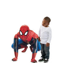 Giant Gliding Spiderman Balloon 36in