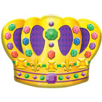 3D Crown Decoration 19in