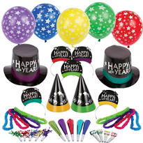 Simply Stated New Years <span class=messagesale><br><b>Party Kit For 50</b></br></span>