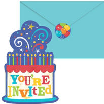 Birthday Fever Invitations Value Pack