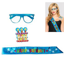 Blue Birthday Accessory Kit