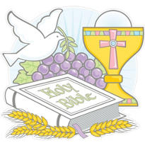 Printed Communion Cutout