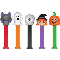 Halloween Pez Candy & Dispenser Packs 12ct