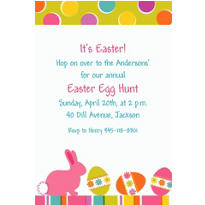Easter Expressions Custom Invitation