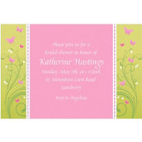 Love is Patient Custom Wedding Invitation
