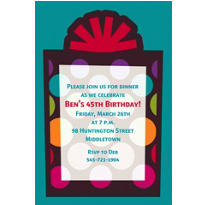 Party On Custom Invitation