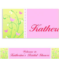 Custom Love is Patient Wedding Banner 6ft