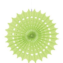 Honeydew Paper Fan Decoration 16in