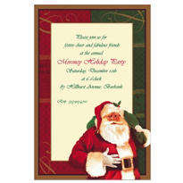 Magic of Christmas Custom Invitation