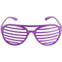 Purple Slotted Shades