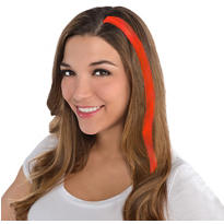Orange Hair Extensions 15in