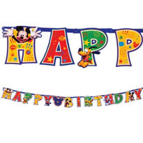 Add An Age Mickey Mouse Letter Banner 10ft