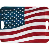Patriotic Serving Tray 19in