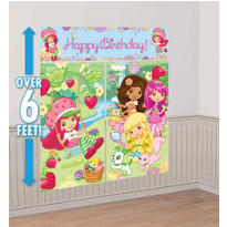 Strawberry Shortcake Scene Setters 5pc