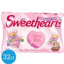 Sweethearts Treat Size Valentines Candy 32ct<span class=messagesale><br><b>20¢ per piece!</b></br></span>
