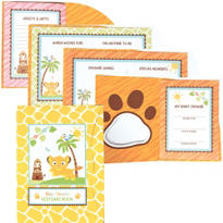 Lion King Baby Shower Keepsake Book