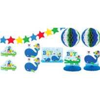 Ahoy Baby Boy Room Decorating Kit 10pc