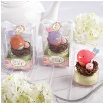 Tweet Baby Girl Candle Baby Shower Favors 3ct