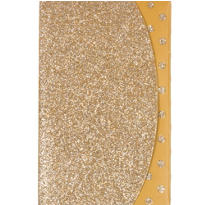 Glitter Champagne Purse Notepad