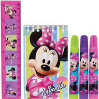 Minnie Mouse Stationery Set 5pc