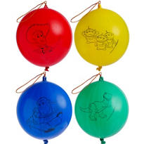 Latex Toy Story Punch Balloons 4ct