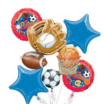 Balloon Bouquet 5pc - Little Champs