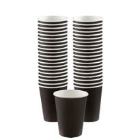 Black Paper Coffee Cups 40ct