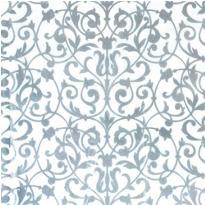 Silver Brocade Printed Tissue Paper 8ct