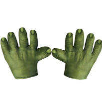 Child Incredible Hulk Hands Gloves