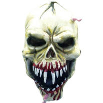 Latex Bloody Skull Mask